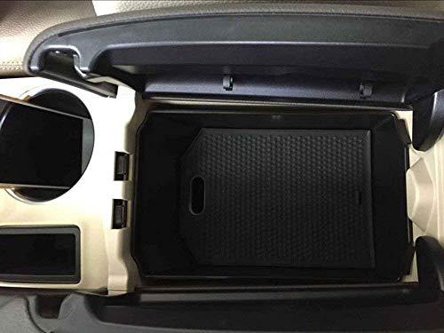 AUTO Pro Aufbewahrungsbox für GLK Klasse X204 200 260 300 Kunststoff Auto Zubehör Handschuh Armlehne Ablage Ablage mit Matte schwarz