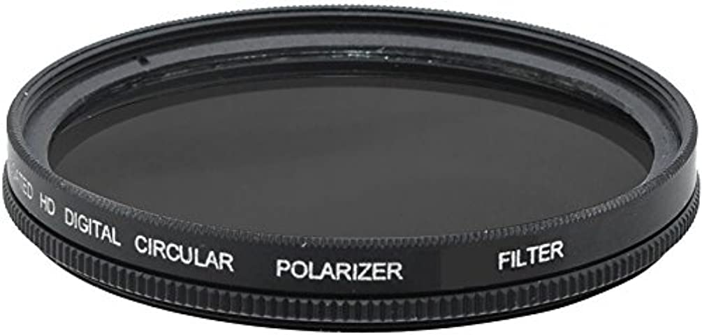 72mm Circular Polarizer Filter (C.P.L) with Multi-Resistant Coating For Canon XH A1, XH A1S, XH G1, XH G1S, HL H1, XL H1A, XL H1S, XL2