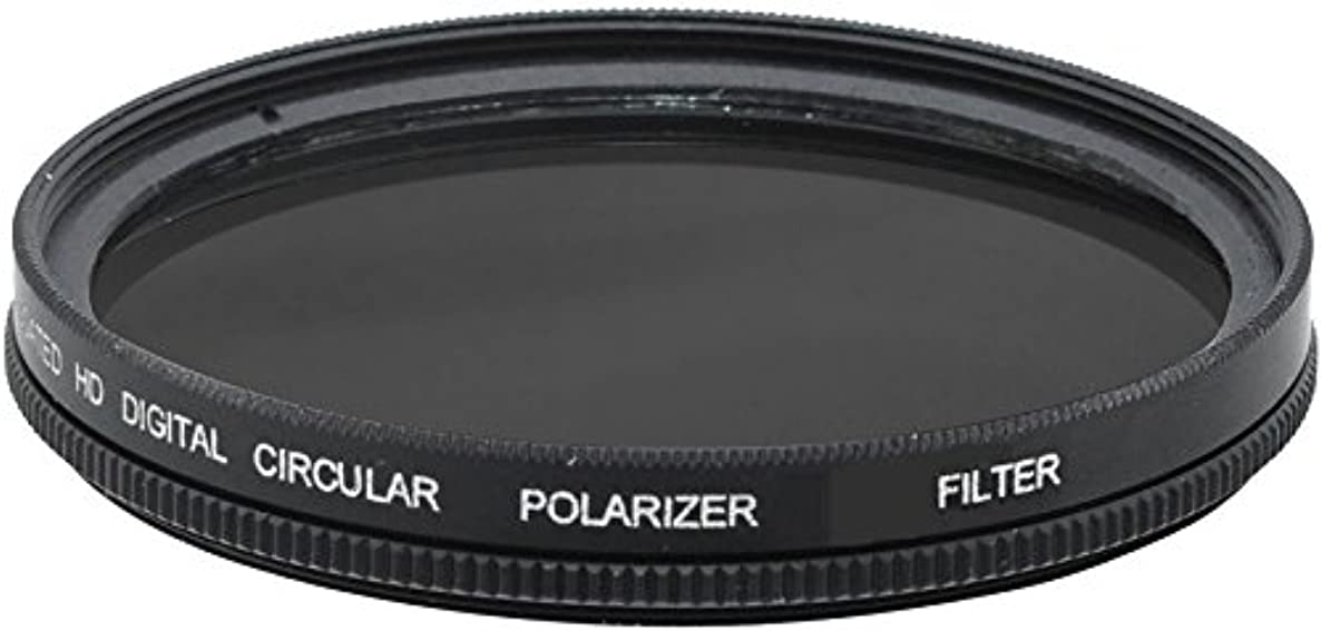 77mm Circular Polarizer Filter (C.P.L) with Multi-Resistant Coating For Canon Zoom Wide Angle-Telephoto EF 28-300mm f/3.5-5.6L IS USM