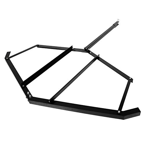 ECOTRIC Tow Behind Drag Harrow Landscape Drag for ATV, UTV, and Garden Tractor with Pin-Style Hitch