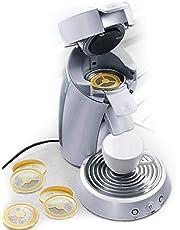 UPP cápsulas de café reutilizables I cápsulas recargables de café, filtros pods reutilizables universales