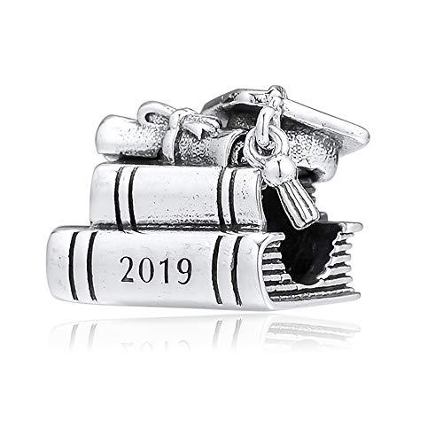 BAKCCI Abalorio de plata 925 para regalo del día de la madre de 2019, compatible con pulseras originales Pandora, joyería de moda