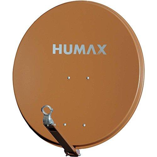 Humax 90 Professional Satelliten-Spiegel, ziegelrot