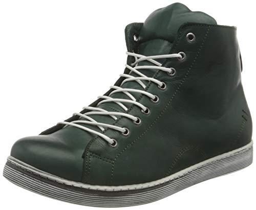 Andrea Conti Damen 0341500 Hohe Sneaker, Grün (Bottle 112), 39 EU