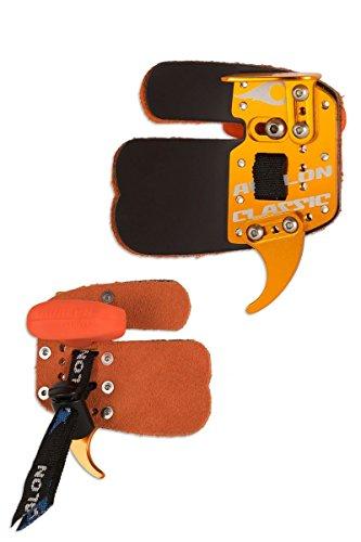 Avalon Bogenschießen Classic Leder Prime Finger Tab (rechte Hand) Für Recurve Bow (Groß)