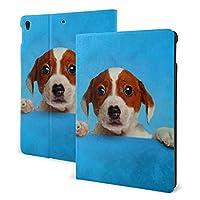 SORA かわいいジャックラッセルテリア 子犬 iPad pro 11インチ ケース (2020モデル) ペンホルダー付き スタンド機能 保護カバー オートスリープ機能 軽量 全面保護型 傷防止 手帳型
