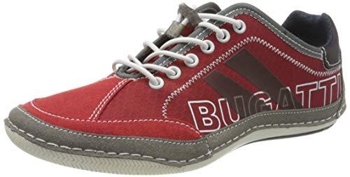 bugatti 321480095400, Scarpe da Ginnastica Basse Uomo, Rosso (Red 3000), 45 EU