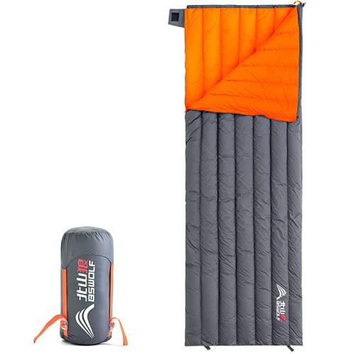 Camping ultraligero saco de dormir abajo impermeable bolsa portátil exterior caliente viaje SLeeping bolsas