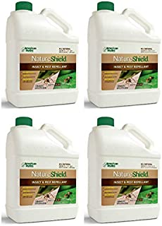 American Hydro Systems NS1-1 Nature Shield Insect and Pest Repellant, 1 Gallon, 4 Pack