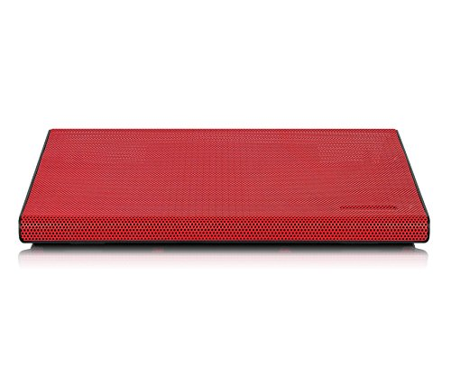 "Aluratek - Notebook Cooling Pad - 17"" - Red (ACP01FR)"