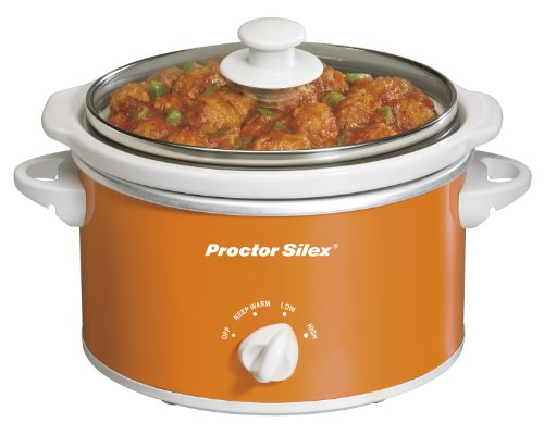 Proctor-Silex 33112Y 1-1/2-Quart Portable Oval Slow Cooker