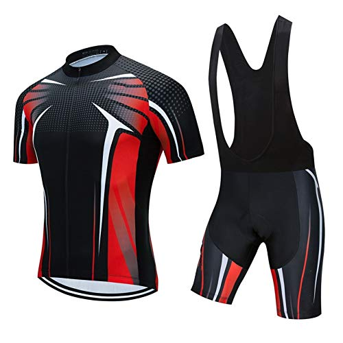 Jersey de ciclismo Conjuntos MTB KIT TRIATHLON SUIT SET (Color : 3, Size : Medium)