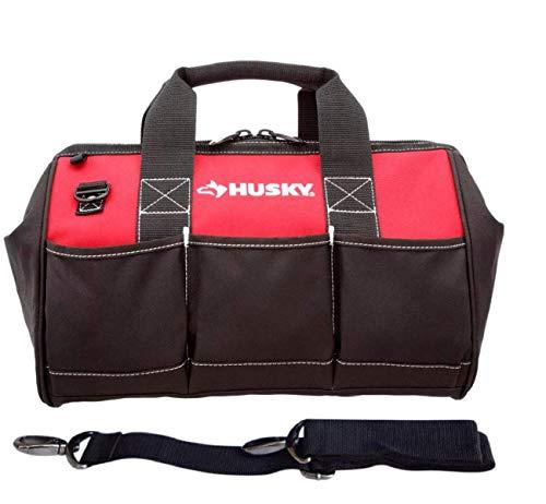 Husky 15 Inch Contractor's Multi-Purpose Water-Resistant Tool Bag