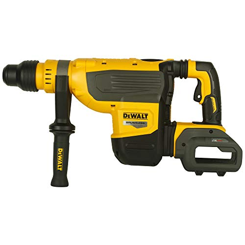 DEWALT DCH733N-XJ DCH733N-XJ-Martillo sin escobillas XR FLEXVOLT 54V, Black/Yellow, Size
