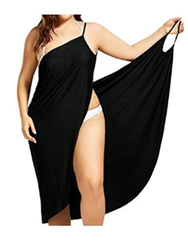 Letuwj dam spagetti rem rygglös wrap strandskydd klänningar