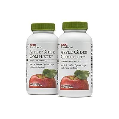 GNC SuperFoods Apple Cider Complete 2 Pack