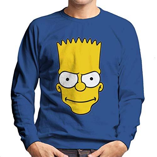 The Simpsons Bart Face Men's Sweatshirt