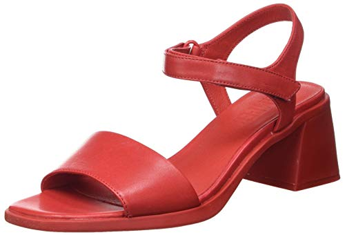 Camper Karolina K200101-013, Sandal Mujer, Red, 38 EU
