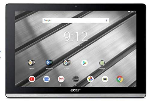Acer Iconia One 10 B3-A50FHD 10.1-Inch Tablet-PC - (Silver) (Intel Atom MT8167A Processor, 2 GB RAM, 16 GB eMMc, Android 7.0)
