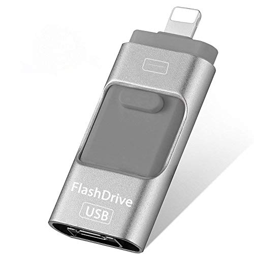 USB Flash Drive for iPhone Photo Stick 256GB Memory Stick USB 3.0 Flash...
