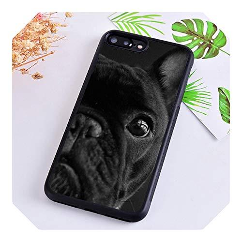 Süße Französische Bulldogge für iPhone 5 6S 7 8 Plus 11 Pro X XR XS Max Samsung Galaxy S6 S7 S8 S9 S10 Plus