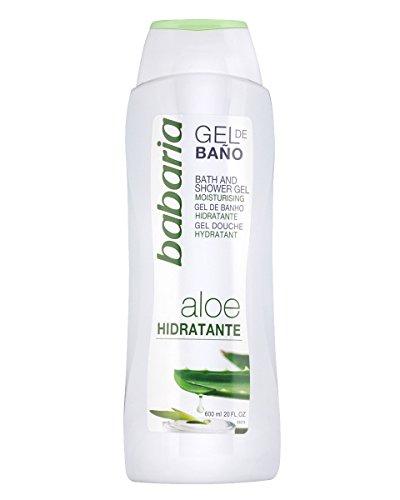 Babaria Gel de Baño Hidratante con Aloe Vera - 600 ml (8410412029865)