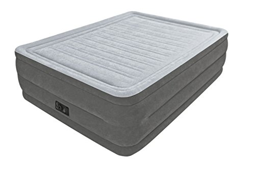 Intex Luftbett Queen Comfort-Plush 152x203x56cm eingebaute Pumpe