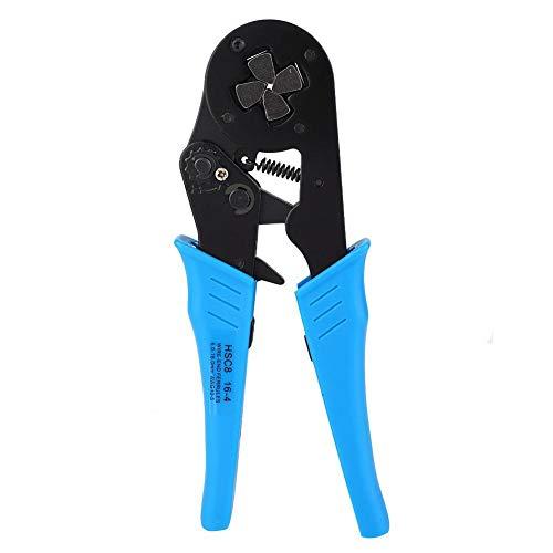 Qiter Crimpzange, selbsteinstellbare Ratschen-Crimpzangenklemmen Crimp-Handwerkzeug 6-16 mm² 10-5 AWG