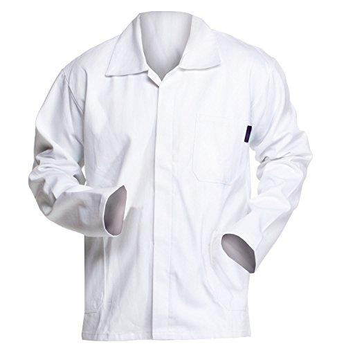 Charlie Barato® Malerjacke - waschfeste & robuste Arbeitsjacke weiß (56)