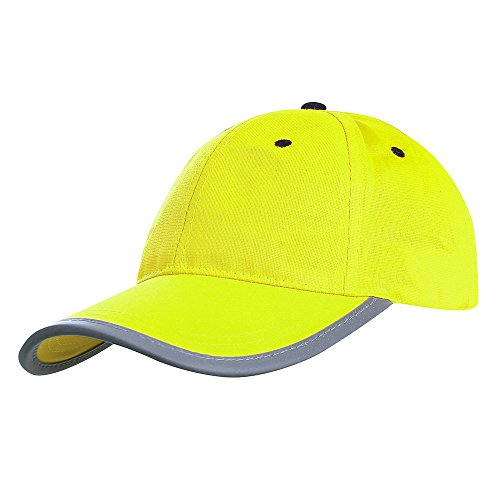 AYKRM Gorras de béisbol Naranja Amarillo Fluo (58CM, Amarillo)
