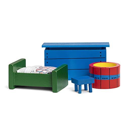 Pippi Longstocking 44381000 - Pippi Möbelset 2 für Spielhaus, bunt gemischt