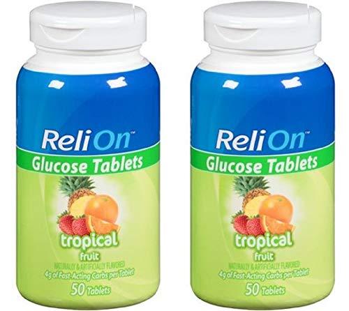 buy  Relion Glucose Tablets – Tropical Flavor ... Diabetes Care