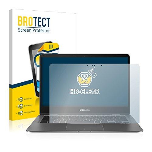 BROTECT Schutzfolie kompatibel mit Asus ZenBook Flip 14 UX461UN klare Bildschirmschutz-Folie
