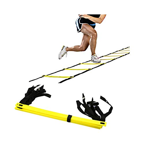 DW4Trading® Agility speedladder loopladder 4 mtr 7 sporten
