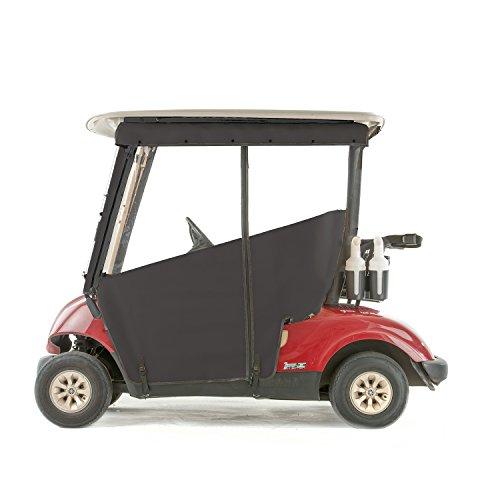 Yamaha G29 Drive Golf Cart PRO-TOURING Sunbrella Track Enclosure - Black-BLK