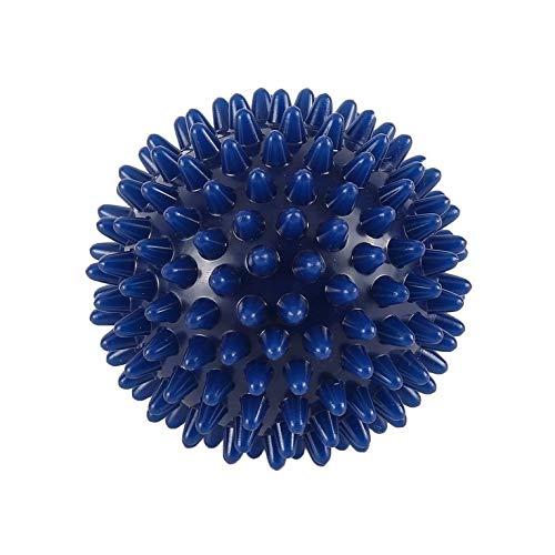 PVC Spiky Massageball Fußschmerzen & Plantarfasziitis Reliever Hedgehog Ball - Blau