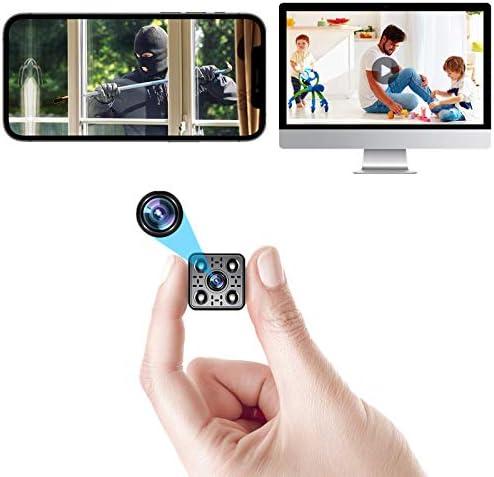 2021 4K Mini Spy Camera Wireless Hidden WiFi Security Nanny Cam Small Surveillance Video Recorder product image