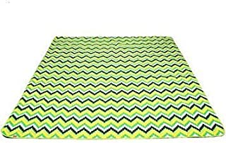 200X200Cm Outdoor Camping Picnic Mat Moisture-Proof Crawling Pad - Green