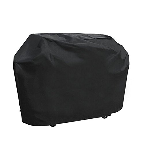 Barbecue Cover, Heavy Duty Oxford Cloth Waterproof Dust-proof Ultraviolet-proof Outdoor BBQ Grill Cover(145 x 61 x 117)