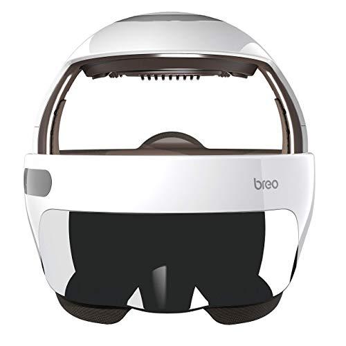 Breo Kopfmassagegerät, Anti-Migräne Massagegerät zur Entspannung von Kopf durch Wärmekompression, Luftdruck und anpassbar Musik, Massage zur Förderung des Schlafes, Neue Version - iDream5s