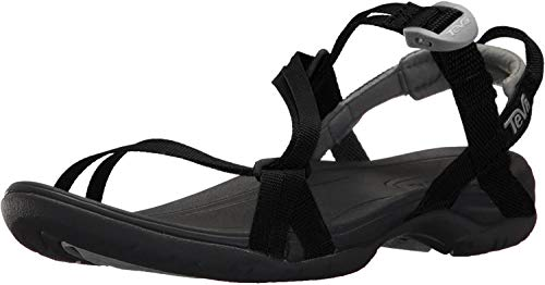 Teva Women's Sirra Sport Sandal, Black, 10 Medium US