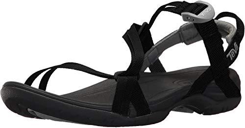 Teva Women's Sirra Sport Sandal, Black, 8 Medium US