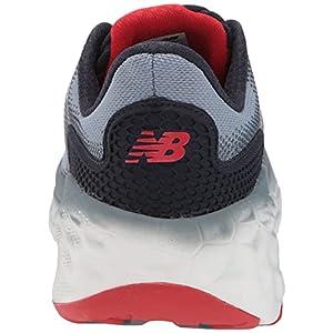New Balance Men's Fresh Foam More V3 Running Shoe, Ocean Grey/Velocity Red/Eclipse, 8.5