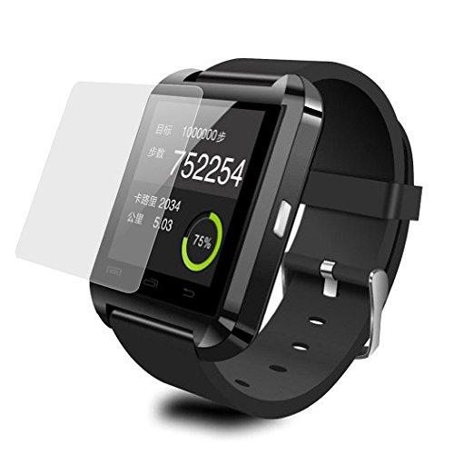 Colorful Für U8 Bluetooth Smartwatch Schutzfolie HD Transparenter Schutzfilm LCD Displayschutzfolie für U8 Bluetooth Smartwatch