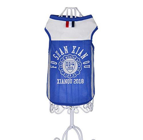 MUXIAND Zomer Huisdier Hond Vest T-Shirt Brief Hond Shirt Huisdier Kleding Voor Honden Katten Puppy Hond Kleding Groothandel Huisdier, L