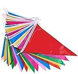 DoGeek Bandierine Triangolari Colorate Decorazioni del Partito Il Vostro Giardino, Casa, A...