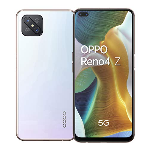 OPPO Z 5G Smartphone 8/128 GB Dew White Dual-SIM Android 10.0, 5984031, weiß