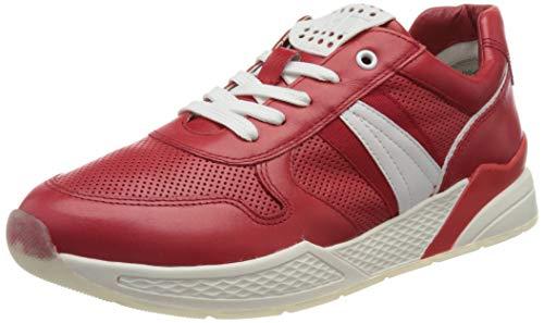 MARCO TOZZI 2-2-23731-26 Leder Sneaker, Zapatillas Mujer, Red Comb, 40 EU