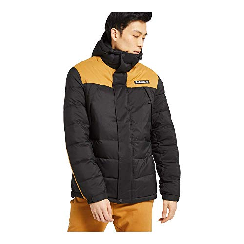 Timberland Outdoor Archive Puffer Jacket Black/Wheat Boot MD