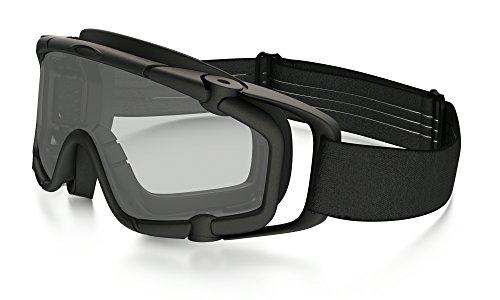Oakley SI Bal Goggle 2.0 Black w/Clear Lentes de reemplazo para gafas de sol, Mehrfarbig, 0 Unisex Adulto ⭐